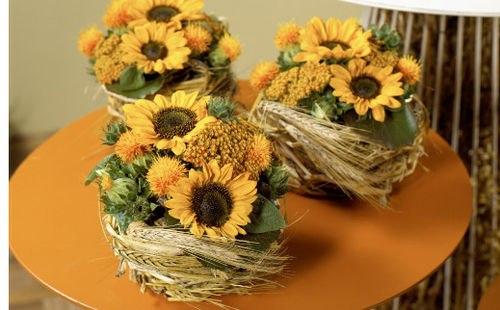 Букеты на 1 сентября  из дачных цветов 85