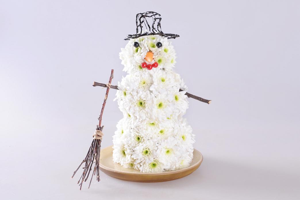 Композиция снеговики своими руками