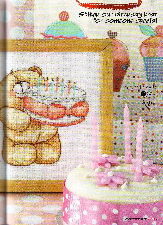 Чаепитие с тортиком - схема вышивки крестом скачать бесплатно 27